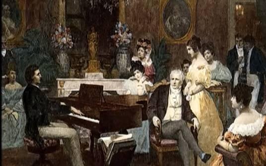 Introduction a la musique classique les compositeurs for Les salons parisiens